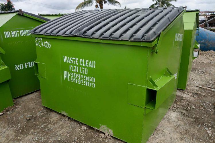 Front loader Compactor Bins Fiji