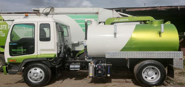4000 Liter Tankers - Waste Clear Fiji