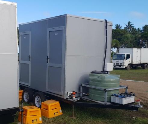 Luxury Portable Toilets Fiji
